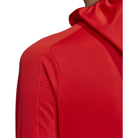 adidas TERREX TraceRo Fl Bluza z kapturem Kobiety, hi res red